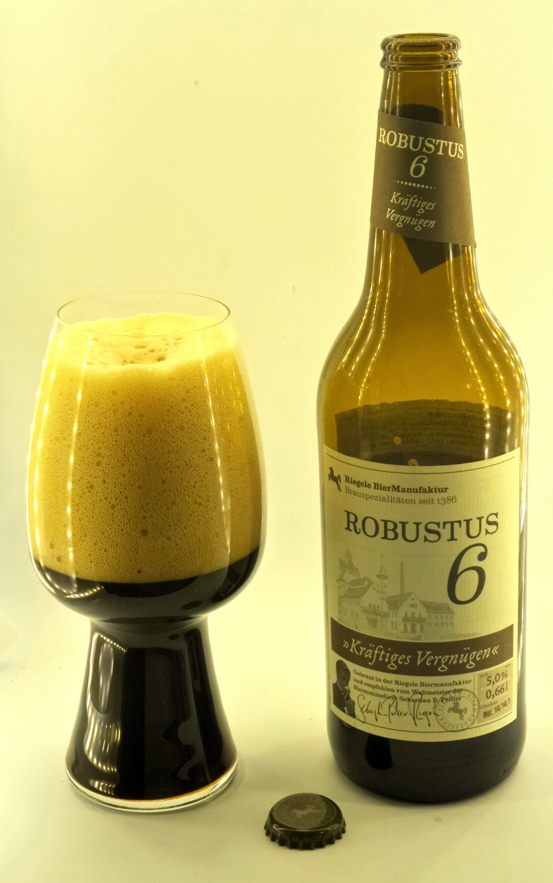 Riegele BierManufaktur Robustus 6